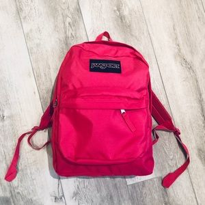 Hot Pink Jansport Backpack